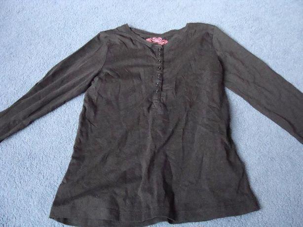 bluzka dziewczęca z długim rękawem rozmiar 134 140