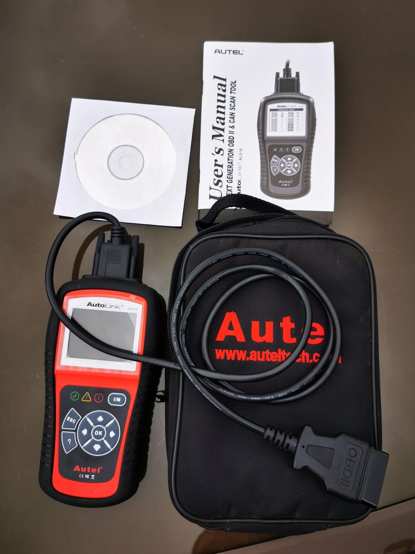 Autel Autolink AL519 komputer diagnostyczny.