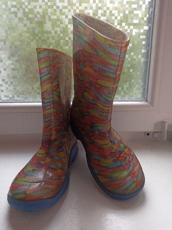 Продам гумові чоботи, резиновые сапоги 32 р-р