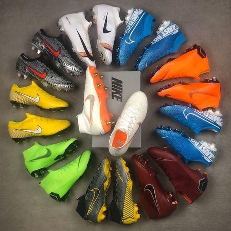 Футбольная обувь. Бутсы, футзалки, сороконожки, бампы. Nike, adidas
