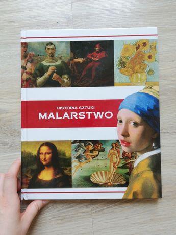 Historia sztuki malarstwo Książka w twardej oprawie