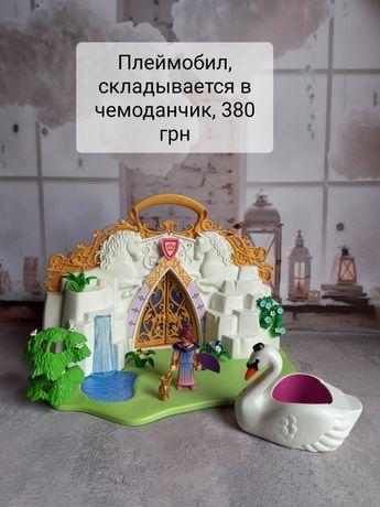 Плеймобил playmobil замок единорога остров павлин звери пальма
