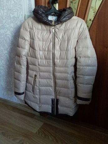 пальто-пуховик(дутое)