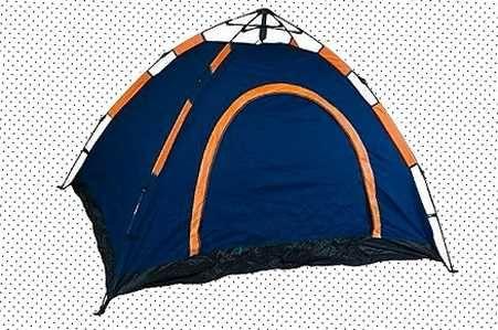 Палатка автоматическая лёгкая трёхместная d&t  Best1 водонепроницаемая