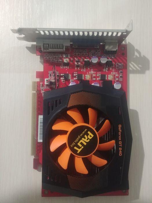 Видеокарта Palit GeForce GT 240 Северодонецк - изображение 1