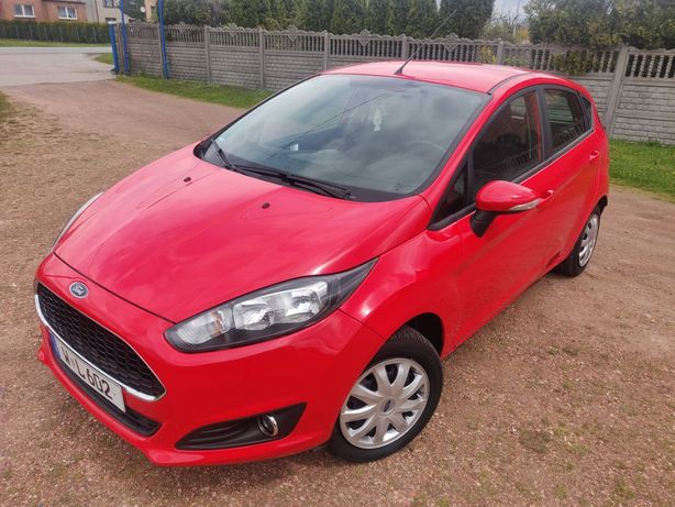 Ford Fiesta MK7 1.25 82KM!  LIFT* KLIMA* 2014 ROK* NIEMCY* 106tys/km