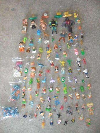 lote de diversos bonequinhos