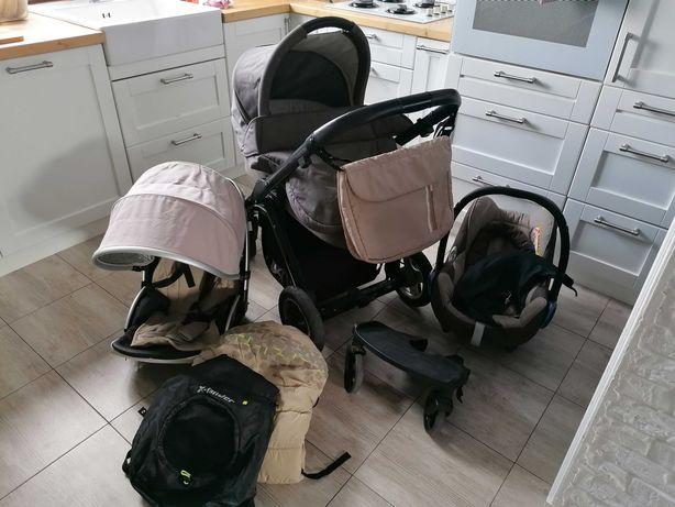 Wózek xlander xpulse 2 w 1 zestaw  plus fotelik samochodowy 1200 zł