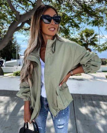 Куртка жіноча хакі/Куртка женская хаки