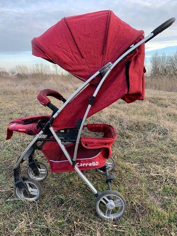 Складная детская коляска Carrello Gloria Red