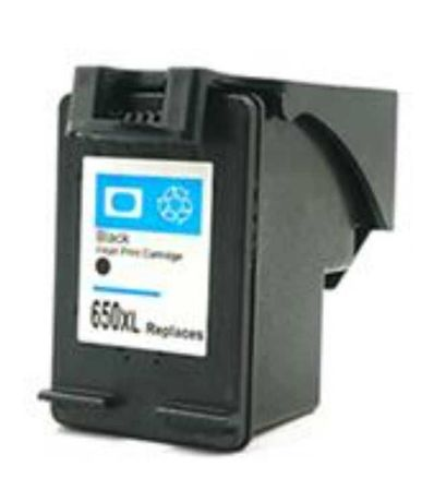 Tinteiro Compatível HP 650XL Preto envio grátis