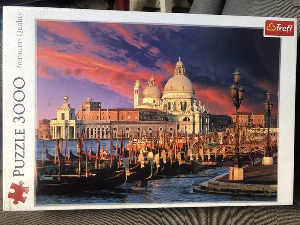 Puzzle Trefl Bazylika Santa Maria della Salute Wenecja, 3000 elem Nowe