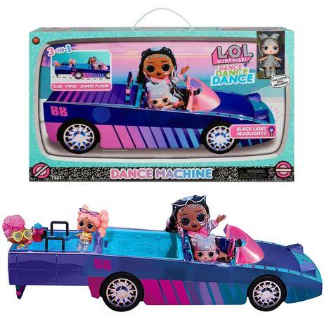 Kabriolet Samochód L.O.L. Surprise OMG Dance Machine 3w1