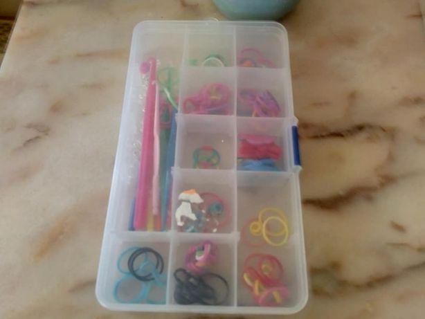 Kit completo para pulseiras coloridas