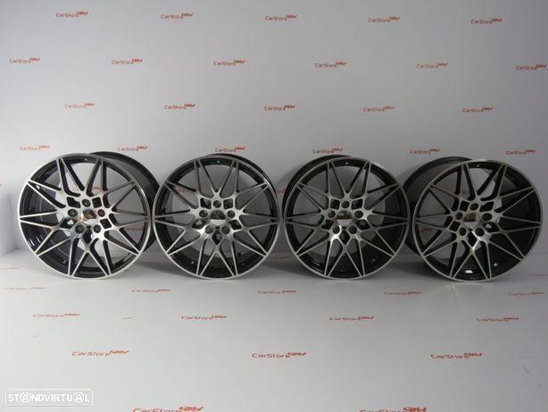 Jantes Look Bmw M4 GTS 18 x 8.5 et35 + 9.5 et 40 5x120 Pretas + Polidas