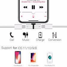 Adapter Przejściówka iPhone 7, 8. X.