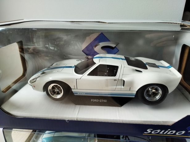 1:18: Ford GT40 MK I 1968 Solido model nowy