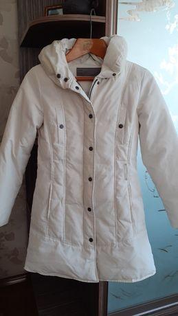 Пуховик пальто куртка Zara S