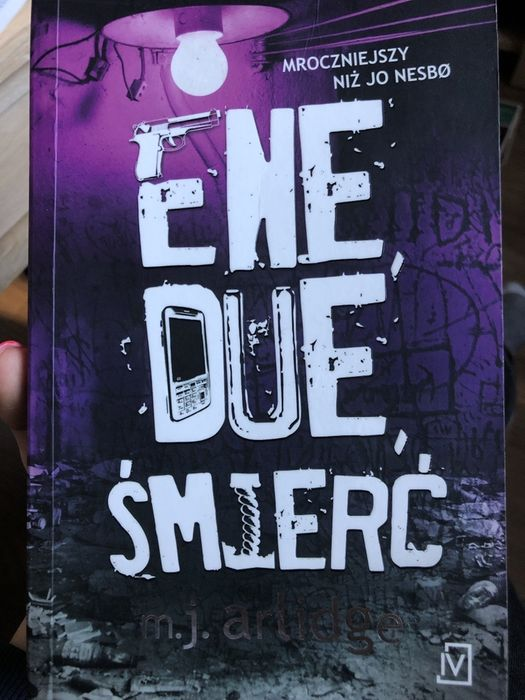 Książka Ene Due Śmierć Luzino - image 1