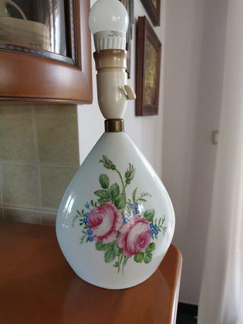 Lampa ręcznie malowana antyk