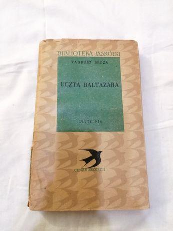 Uczta Baltazara - powieść