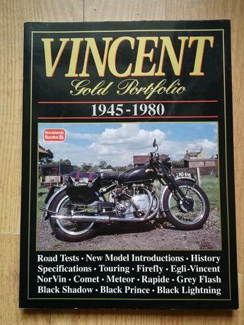 Vincent Gold Portfolio Cafe Racer motocykle classic