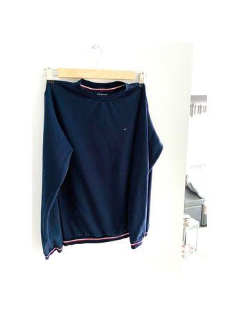 Granatowa damska bluza tommy hilfiger