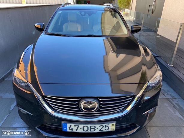 Mazda 6 M6 SW 2.2 SKY-D Excellence P.Leather White+Cruise Pack+TAE+Navi