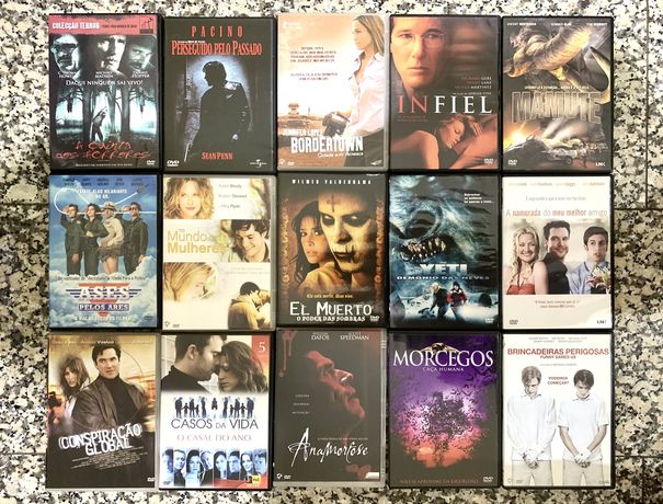 DVD's originais