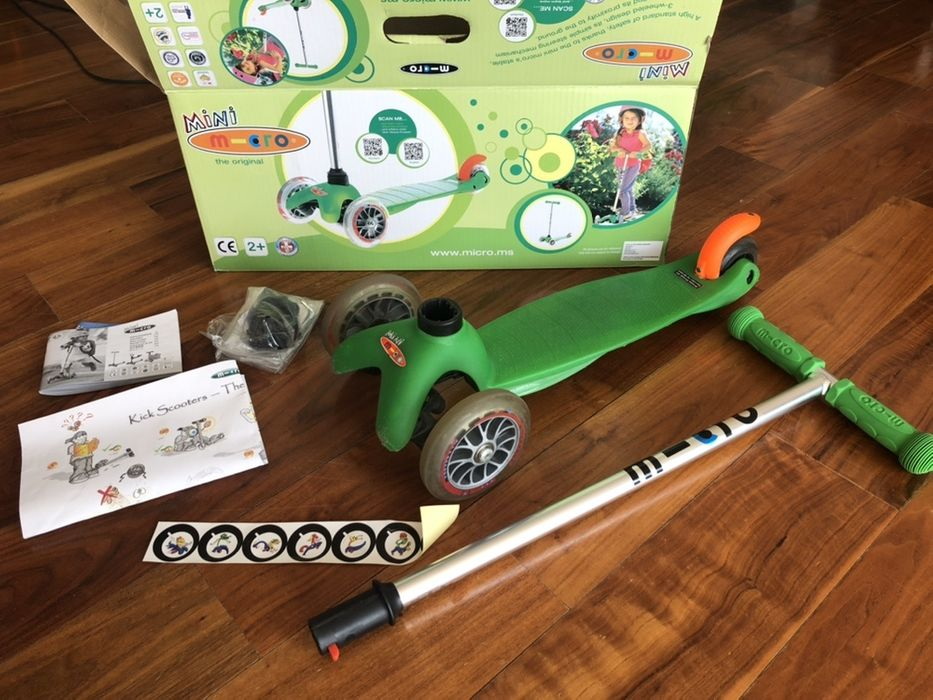 Hulajnoga Minimicro zielona Tychy - image 1