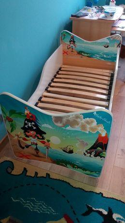 Łóżko dziecięce Pirat 140x70