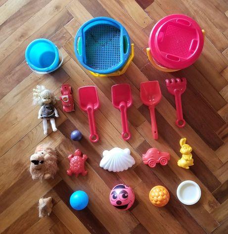 Набор из 22 предметов для игры в песке / 2-5 лет / море, дача, двор