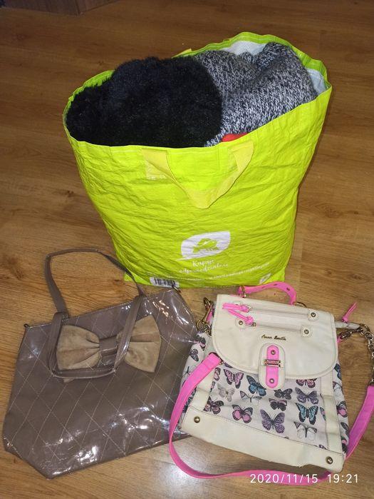 Paka ciuchów + torebki Goleniów - image 1