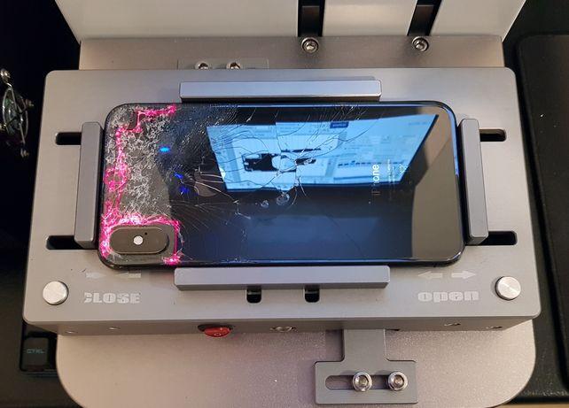 Wymiana tylnej klapki szybki iphone SE 8 8 plus X Xs Xs Max XR 11 Pro