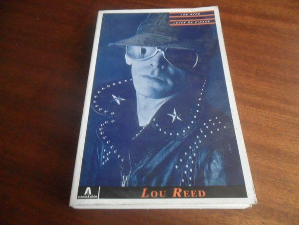 """""""Luzes da Cidade"""" de Lou Reed - 1ª Edição de 1987"""