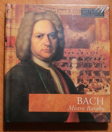 Mistrzowie muzyki klasycznej Bach Mistrz Baroku CD