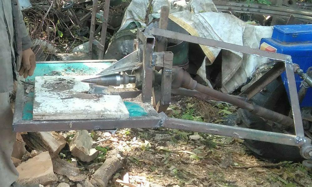 Конусний дровокол від ВОМ Безопасная - изображение 1