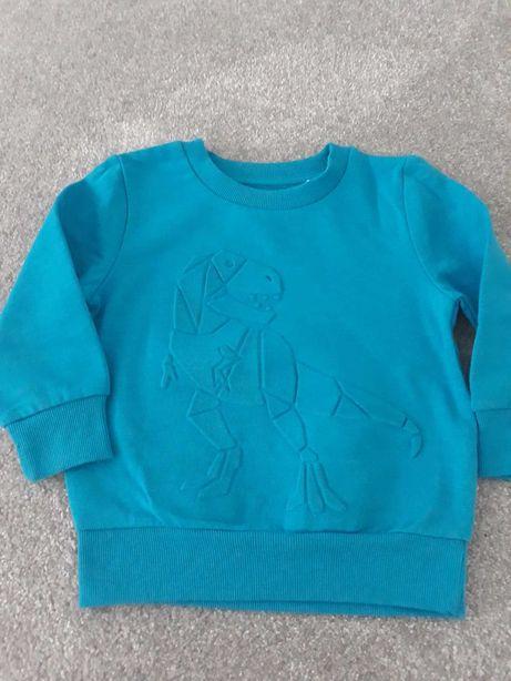 Bluza dinozaur 92cm