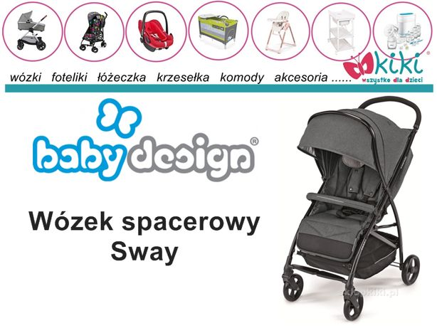 Wózek spacerowy Baby Design Sway