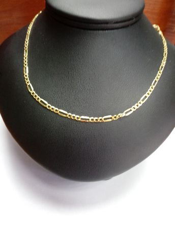 Męski złoty łańcuszek figaro pr. 585
