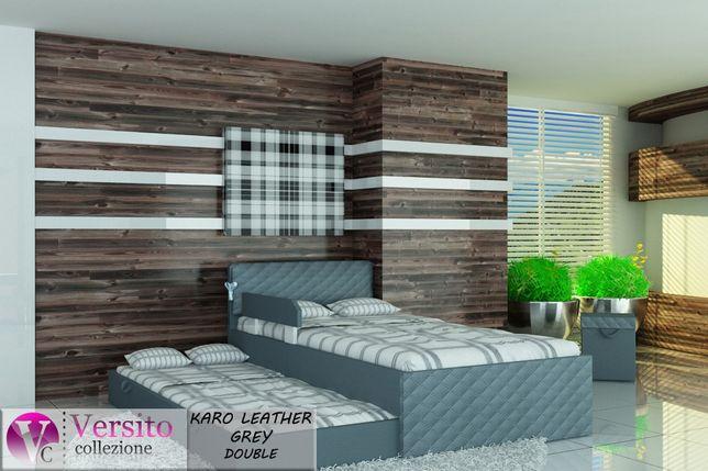 Łóżko młodzieżowe, łóżko piętrowe dla dzieci z dwoma materacami