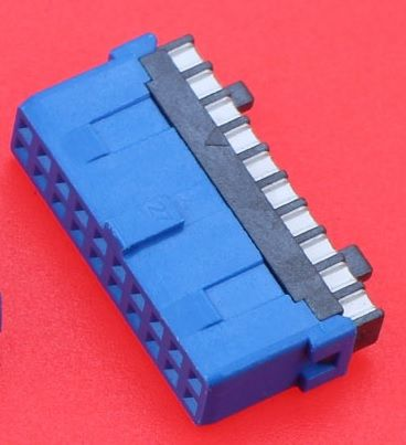 Разьем под пайку USB 3.0 19 pin