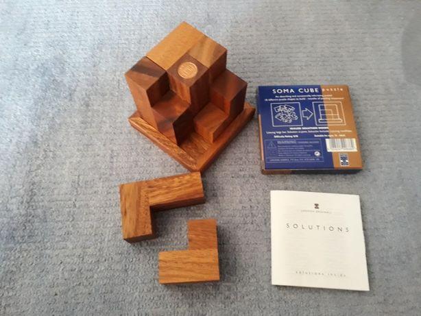 Puzzle Madeira: SOMA CUBE (com entrega*)