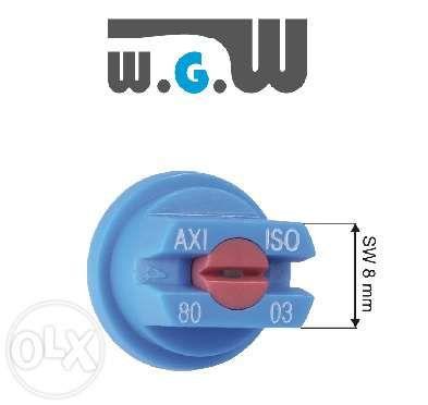ALBUZ AXI rozpylacz szczelinowy ceramiczny, dysza dysze - zestaw