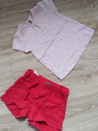 Bluzka, spodenki dla dziewczynki 80,86