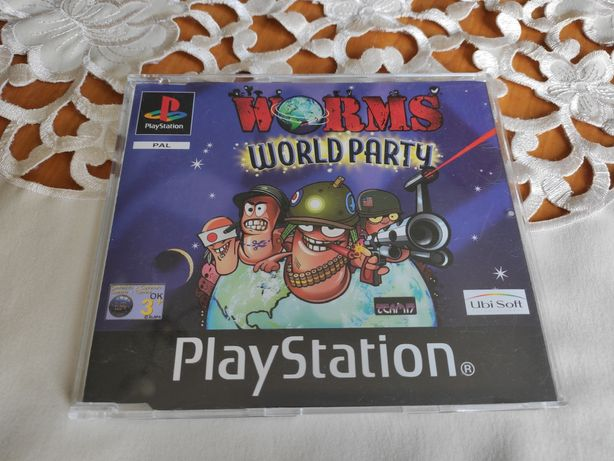 Worms World Party PS1 Promo Unikat