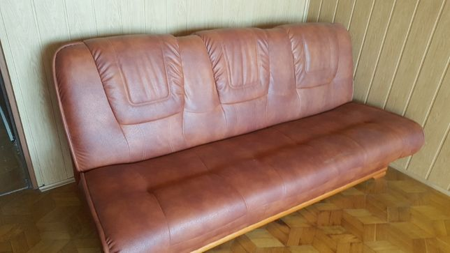 sofa skórzana rozkładana