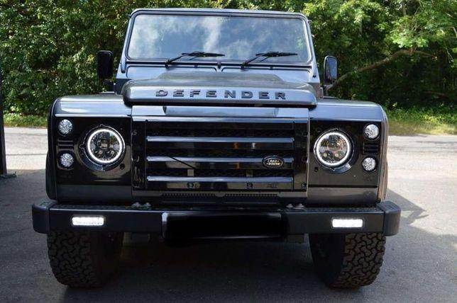 Par Farois Ópticas Led Angel Eyes Land Rover Defender Jeep Wrangler