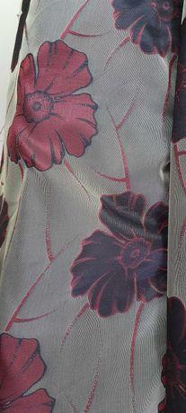 tkanina zasłonowa w kwiaty 280. szer.