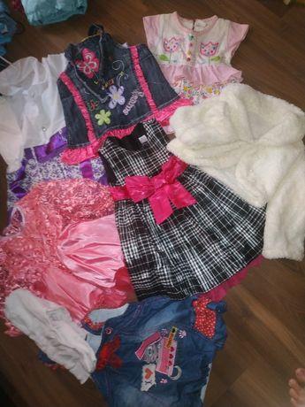 Платье, джинсовый сарафан, болеро, шубка, жилет, юбка ТМ Габби 10шт